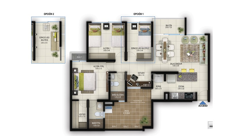 Spto-tipo-in2-area-construida-75.45-m2-area-privada-65.67-m2-area-patio-1032-m2