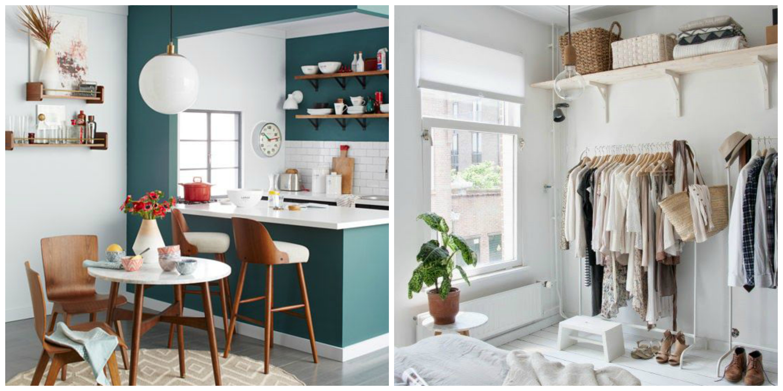 Consejos para decorar espacios peque os y ser feliz en for Burras para ropa