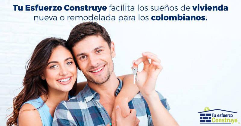 Construir o remodelar tu casa en Colombia con Tu Esfuerzo Construye